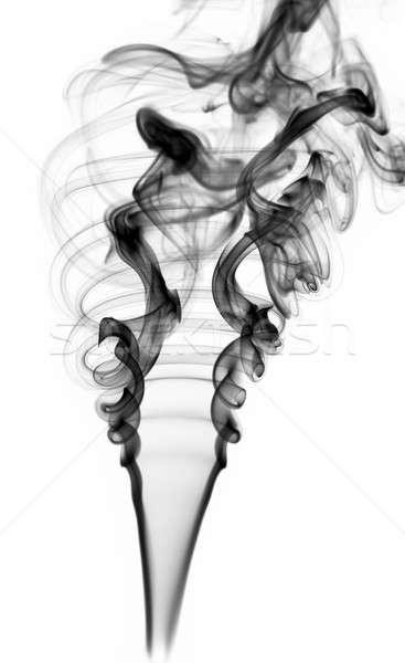Foto stock: Resumen · negro · humo · blanco · luz