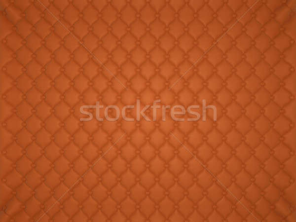 Orange leather pattern with buttons and bumps Stock photo © Arsgera