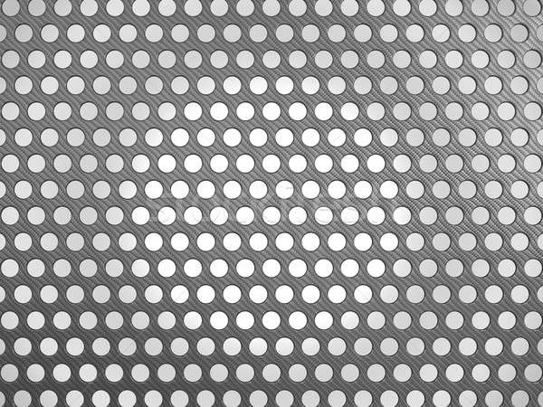 Carbon fibre surface with holes Stock photo © Arsgera