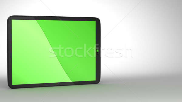 Close-up of slim Tablet PC Stock photo © Arsgera