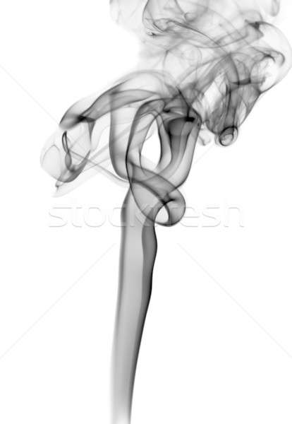 Zwarte abstractie vorm witte abstract Stockfoto © Arsgera