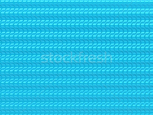 Wavy blue scales pattern useful as background Stock photo © Arsgera