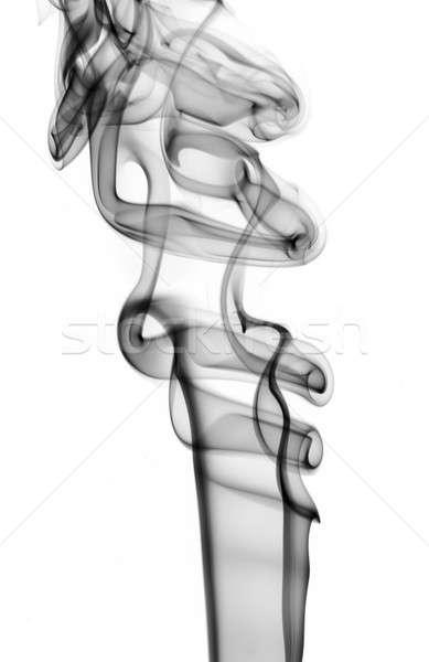 Abstract black puff of fume  Stock photo © Arsgera