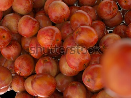 Tasty Red ripe apples Stock photo © Arsgera