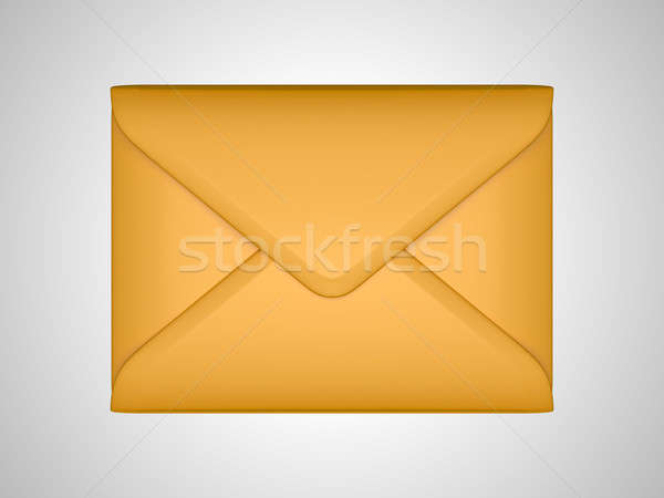 EMail and post: sealed paper envelope  Stock photo © Arsgera