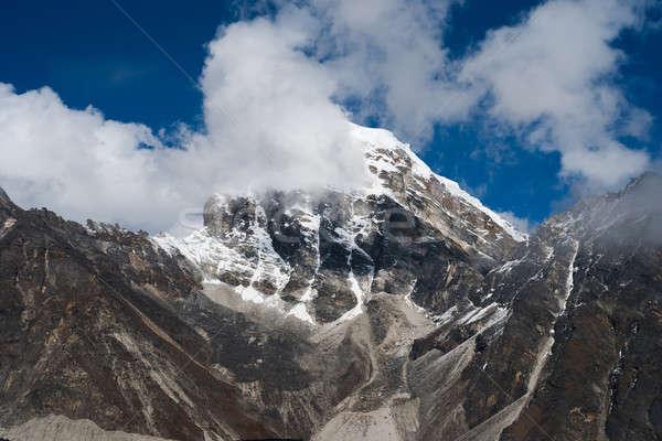 雲 山 ヒマラヤ山脈 トレッキング ネパール 空 ストックフォト © Arsgera