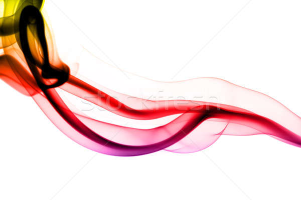Stock photo: Colorful fume abstract pattern