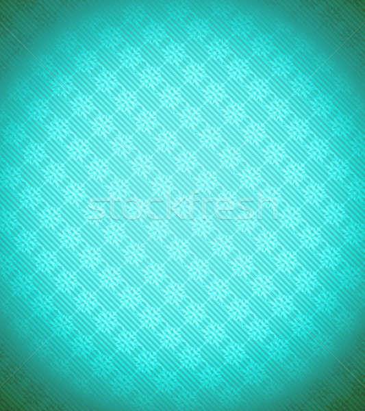 Turquoise - blue Xmas snowflake background Stock photo © Arsgera