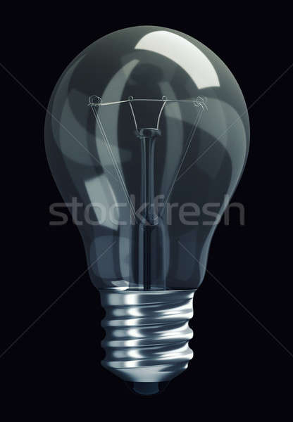 Great Idea: obsolete light bulb isolated Stock photo © Arsgera