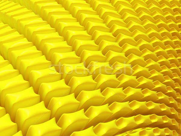 Streszczenie żółty płatki Zdjęcia stock © Arsgera