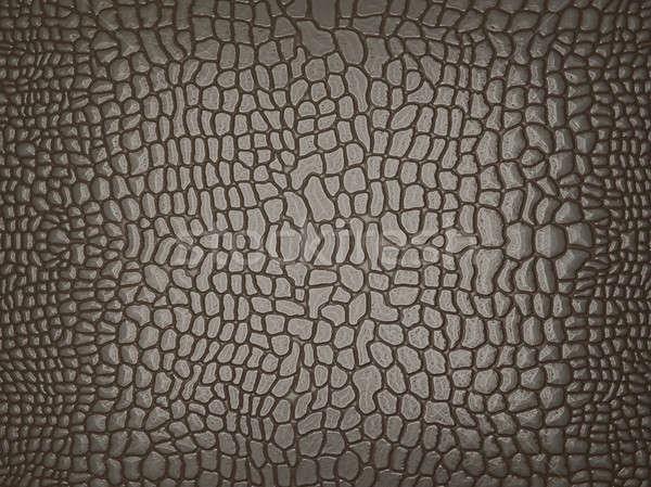 Grijs alligator huid nuttig textuur groot Stockfoto © Arsgera