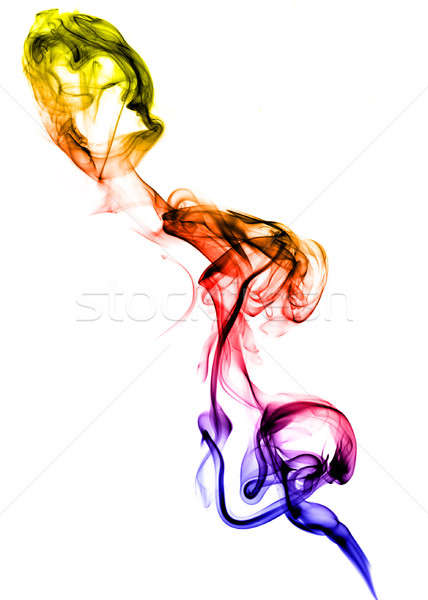 Colored fume abstract texture Stock photo © Arsgera