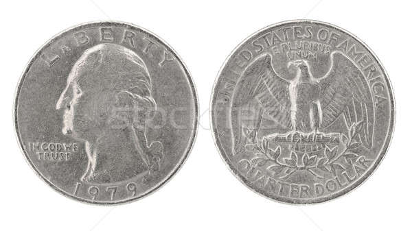 Quarter Dollar 1979 Stock photo © Arsgera