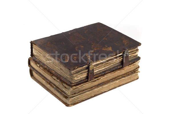 Stack of old obsolete books Stock photo © Arsgera