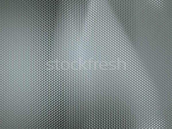 Textured with Scales metallic background Stock photo © Arsgera