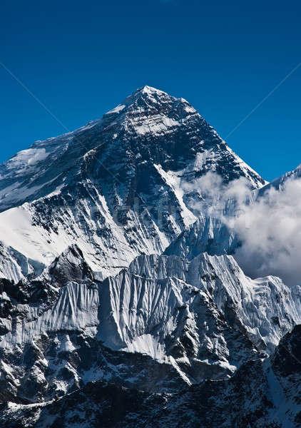 Everest manzara kar dağ buz Stok fotoğraf © Arsgera