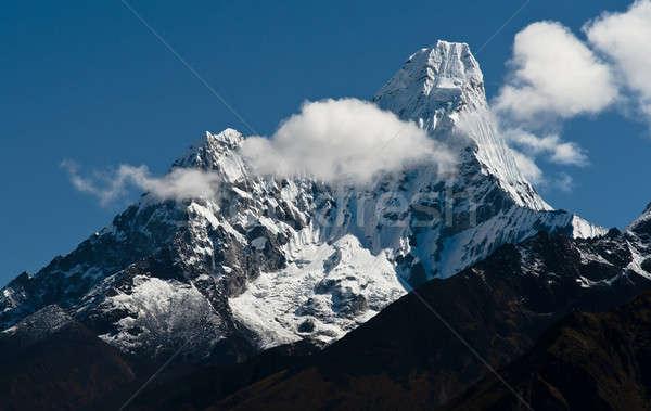 Ama Dablam peak in Himalayas Stock photo © Arsgera