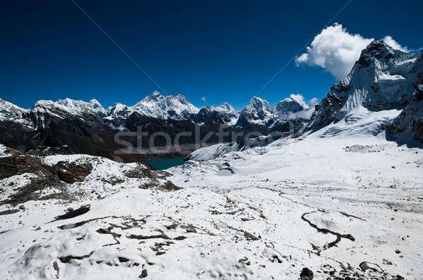 Görmek everest göl atış yükseklik Stok fotoğraf © Arsgera