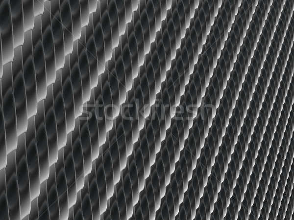Metallic scales texture or background Stock photo © Arsgera