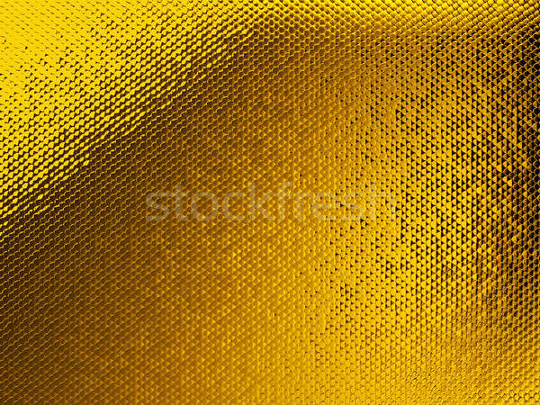 Golden Scales textured pattern or background Stock photo © Arsgera
