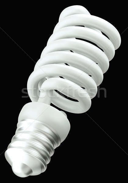 Energy efficient technology: light bulb isolated  Stock photo © Arsgera