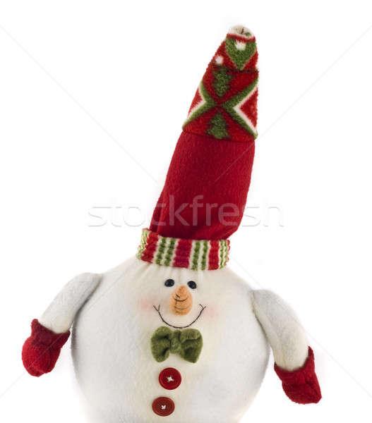 Cute cuddly Christmas decoration toy Stock photo © Arsgera