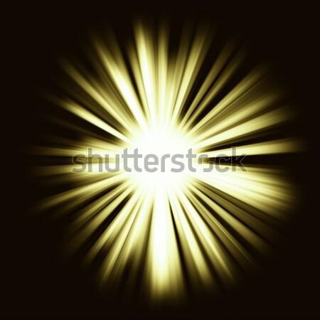 Colorful light Beams: shining star Stock photo © Arsgera