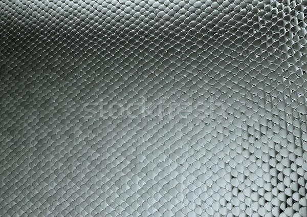 Scales texture metallic background Stock photo © Arsgera