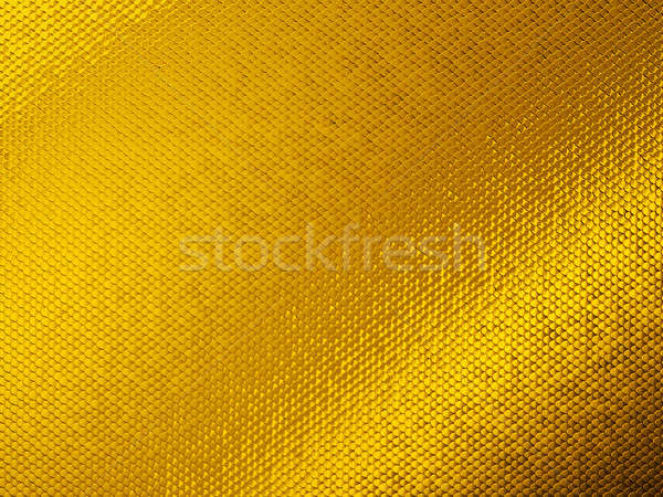 Scales or squama golden texture or background Stock photo © Arsgera