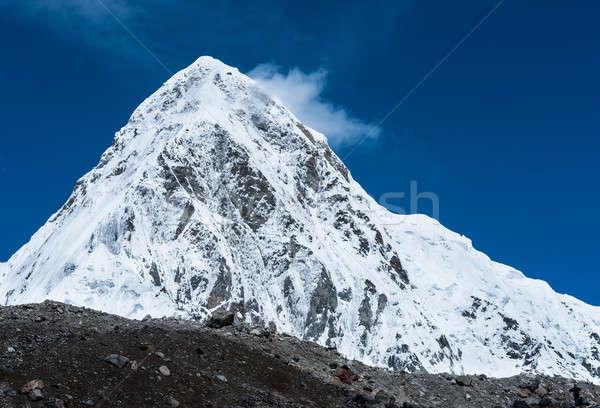 Reizen landschap sneeuw berg ijs Stockfoto © Arsgera