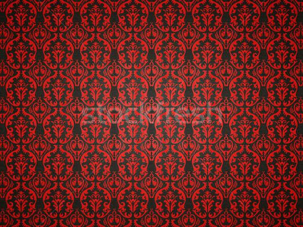 аллигатор кожи красный орнамент полезный фон Сток-фото © Arsgera
