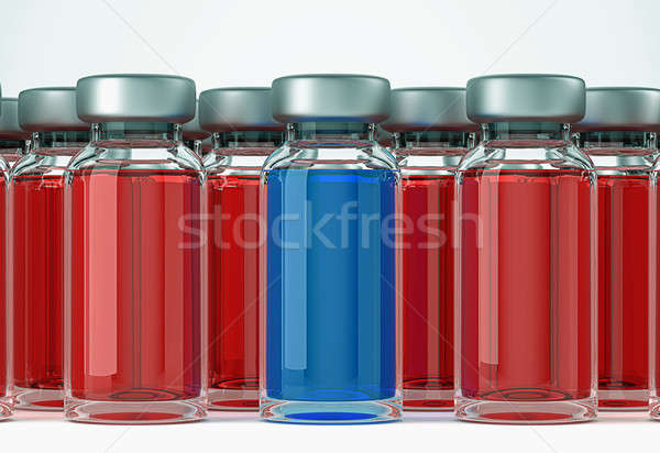 Right medical decision: group of ampules Stock photo © Arsgera