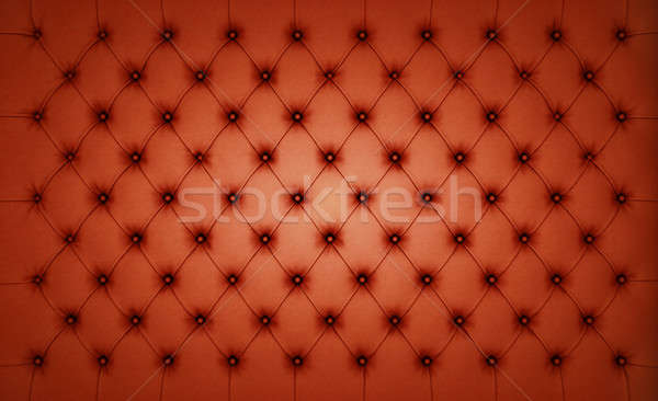 Brown Luxury buttoned leather pattern Stock photo © Arsgera