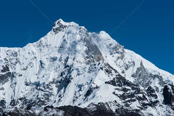 Montanha himalaia céu paisagem gelo rocha Foto stock © Arsgera