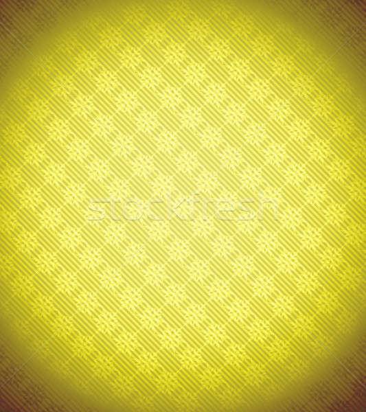 Yellow Xmas snowflake background Stock photo © Arsgera