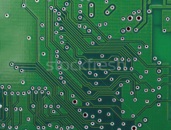 Base plate of Integrated circuit Stock photo © Arsgera