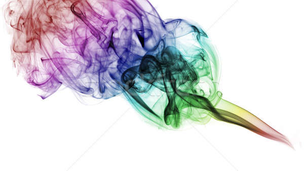 Gradient colorful abstract fume  Stock photo © Arsgera