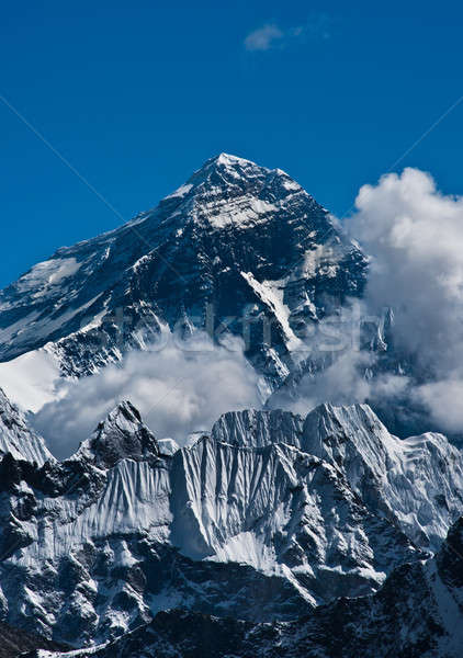 Everest haut monde ciel paysage Photo stock © Arsgera