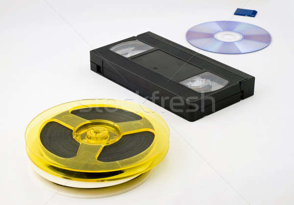 Evolution of data storage Stock photo © Arsgera