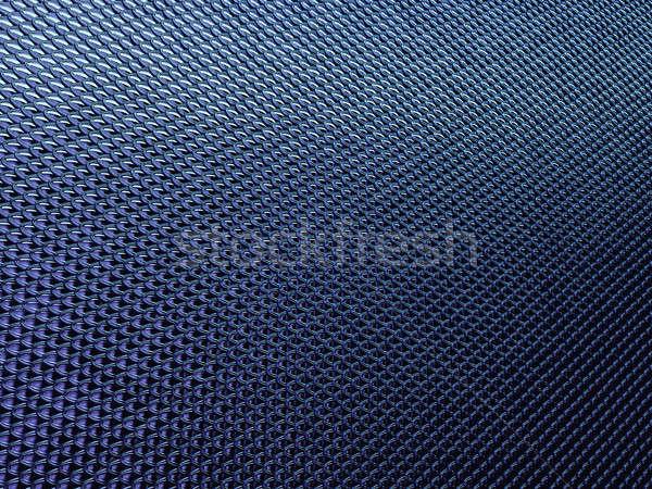 Photo stock: Bleu · poissons · échelles · matériel · mode