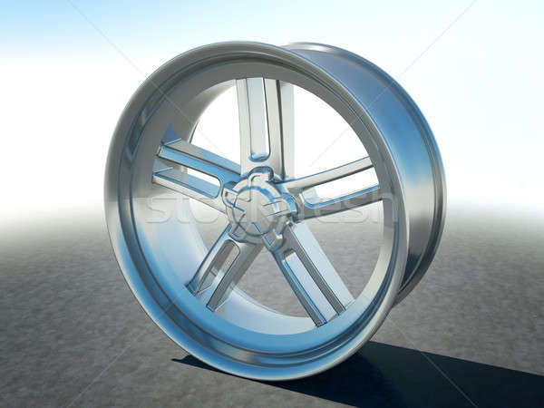 Alloy automotive disc or wheel Stock photo © Arsgera