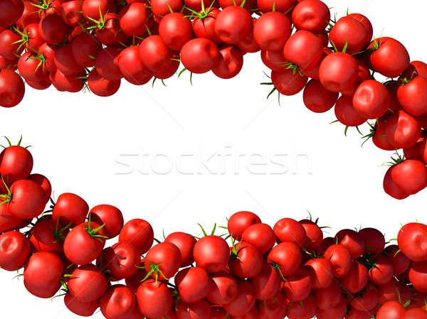 Tasty and fresh Tomatoe Cherry flows  Stock photo © Arsgera