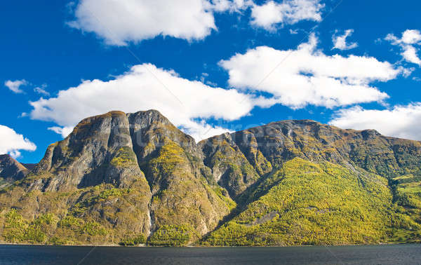 Norwegian landscapes. Fiords, mountains Stock photo © Arsgera