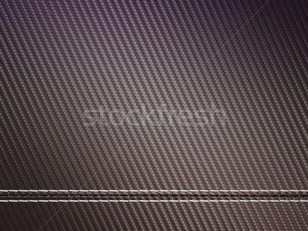 Horizontally Stitched carbon fibre Stock photo © Arsgera