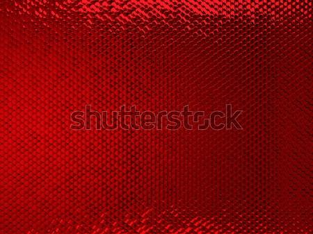 Scales or squama red texture or metallic background Stock photo © Arsgera