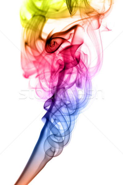 Gradient colored Abstract fume shape Stock photo © Arsgera
