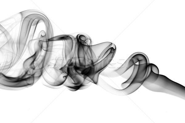 Magic Abstract fume waves on white Stock photo © Arsgera