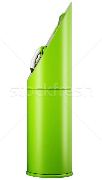 ecological transport: side view of charging station for electric Stock photo © Arsgera