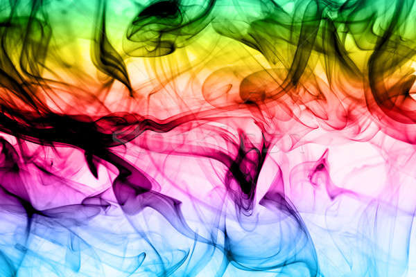 Abstract colorful fume background Stock photo © Arsgera