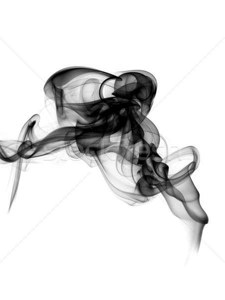 Stock photo: Magic Abstract fume shape on white